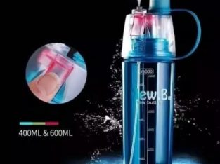 BOTOL MINUM NEW B SPORT SPRAY WATER 600ML